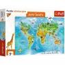 Puzzle edukacyjne 104: Mapa Świata dla dzieci (15557)