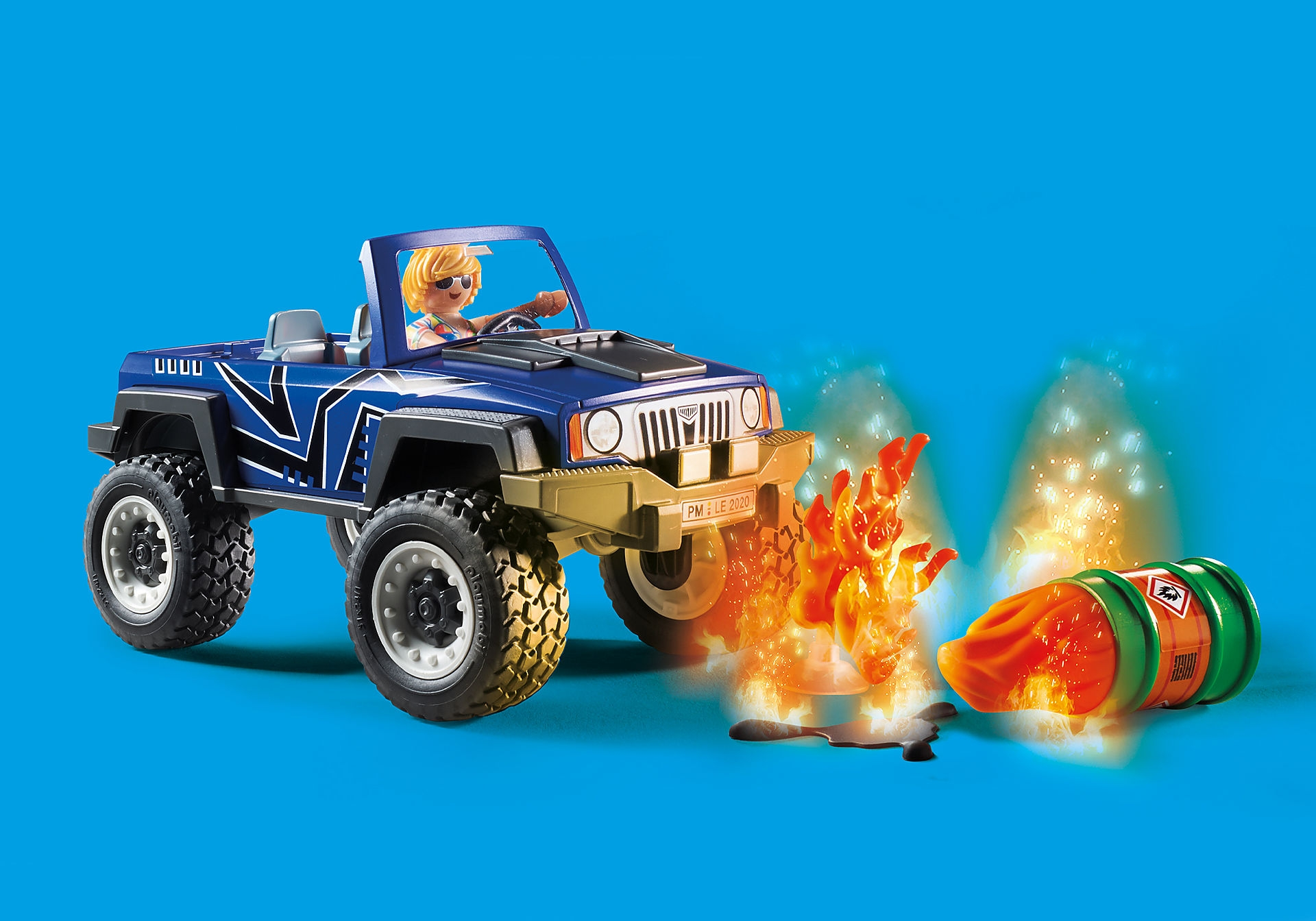 Playmobil City Action: Akcja straży pożarnej z pojazdem gaśniczym (70557)