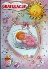 Karnet 3D Gratulacje Narodziny syna lub córki mix