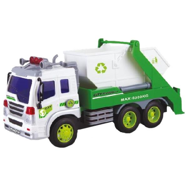 DROMADER Auto śmieciarka (00757)