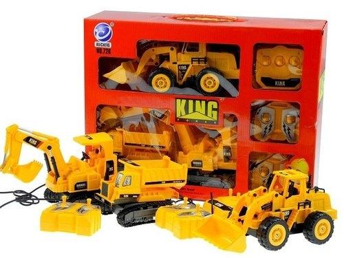 Zestaw maszyn budowalnych