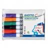 Marker suchościeralny GIOTTO, 6 kolorów (414200)