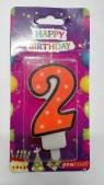 Świeczka urodzinowa - 2 (PTN1-2)