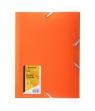Teczka z gumką A4 PP-101 pomarańczowa PENMATE