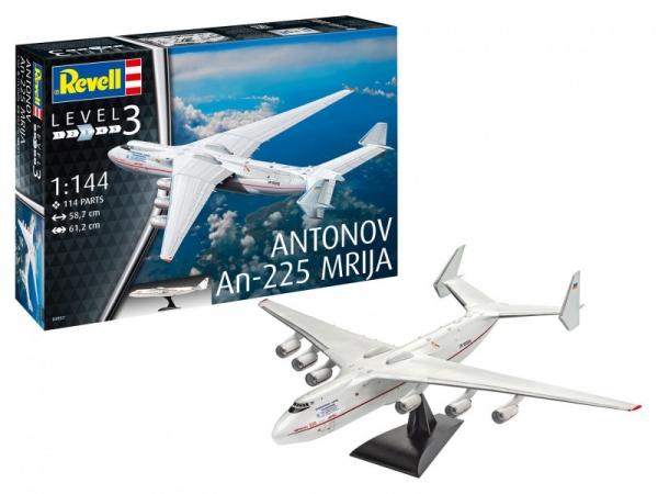 Model plastikowy Antonov AN-225 Mrija 1:144 (04957)