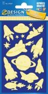 Naklejki świecące w ciemności - Kosmos (59257)