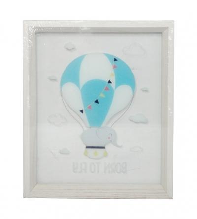 Obraz z balonem 25x30 cm (U774)