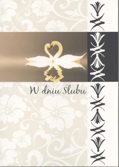 Karnet A4 W dniu Ślubu prestige P-004