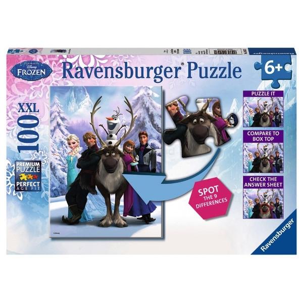 RAVEN. 100 EL. Frozen difference (105571)
