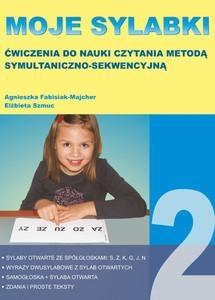 Moje sylabki - wczesna nauka czytania metodą symultaniczno-sekwencyjną. Zestaw 2 Agnieszka Fabisiak-Majcher, Elżbieta Szmuc