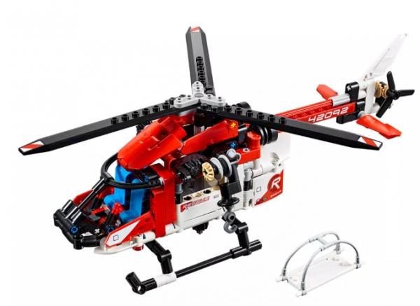 LEGO Klocki Technic: Helikopter ratunkowy (42092)