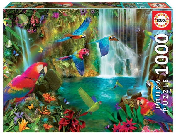 Puzzle 1000: Tropikalne papugi (18457)
