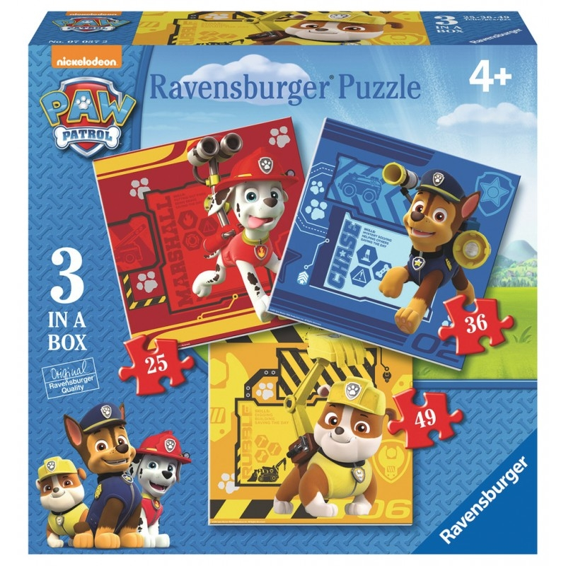Puzzle 3w1: Psi Patrol (070572)