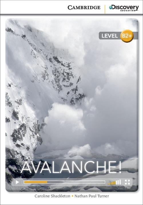 Avalanche! Shackleton Caroline, Turner Nathan Paul