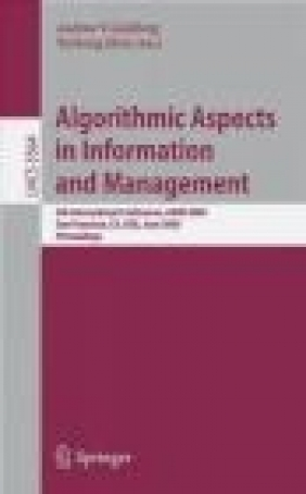 Algorithmic Aspects in Information and Management A Goldberg