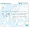 Zestaw - Eurpoa mapa konturowa