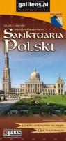 Mapa - Sanktuaria Polski 1:900 000 w.2018 praca zbiorowa