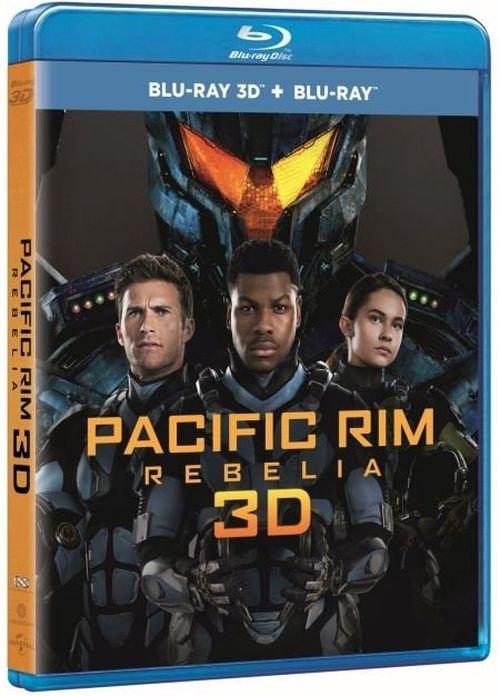 Pacific Rim: Rebelia (Blu-ray 2D+3D)