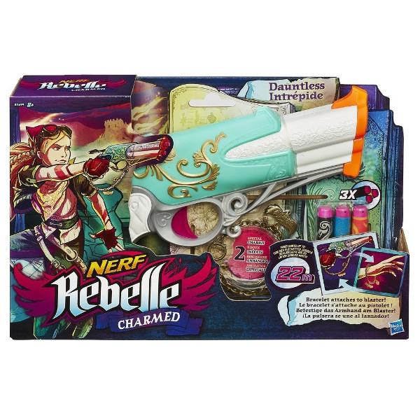 HASBRO Nerf Rebelle Charmed Dauntless (B1699)
