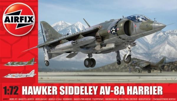 AIRFIX Bae Hawker siddel ey Harrier av-8a