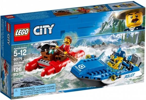 Klocki City Ucieczka rzeka (60176)