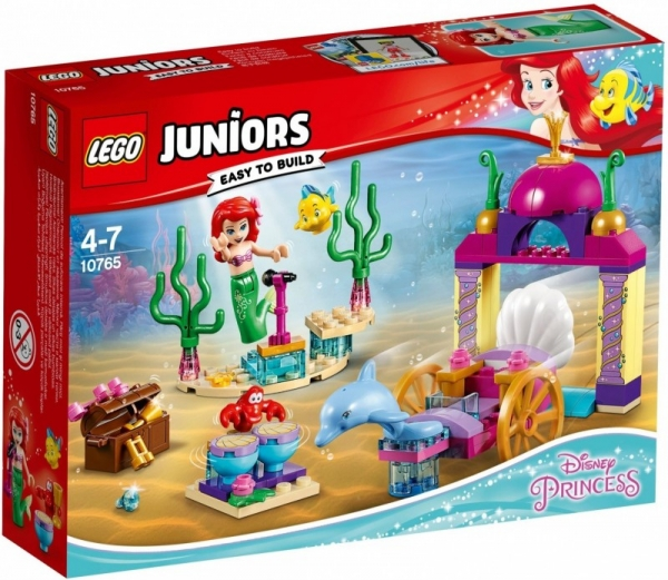 Lego Juniors: Podwodny koncert Arielki (10765)