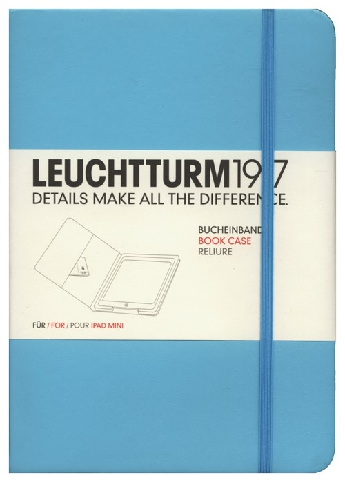 Etui iPad mini Leuchtturm1917 turkusowe