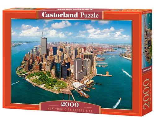 Puzzle New York City before 9/11 2000 elementów (200573)