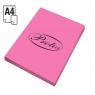 Papier ksero A4/100 ark. - różowy (110195)