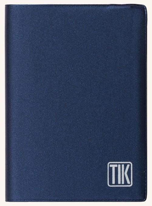 Kalendarz 2017 TIK klasyczny kieszonkowy niebieski