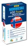 Norweski 600 fiszek Trening dla znających podstawy + CDpoziom A2-B1