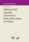 Efektywność regulacji zbiorowych stosunków pracy w Polsce Lewkowicz Jacek