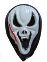 Maska z kapturem mix strasznych wzorów