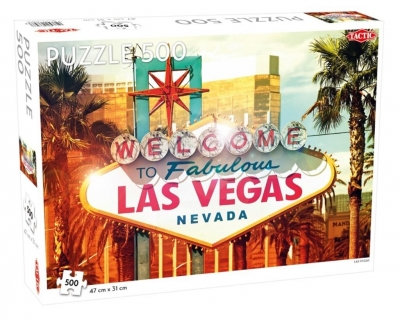 Puzzle 500: Welcome to Las Vegas