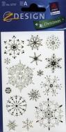 Naklejki świąteczne Z Design Christmas Płatki śniegu