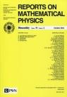 Reports on Mathematical Physics 78/2 2016 Kraj