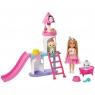 Barbie: Przygody księżniczek - Zestaw: Chelsea z pałacem dla zwierząt (GML73)