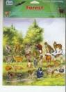 Naklejki Family Las 120 x  600