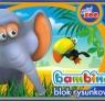 Blok rysunkowy A4 Bambino 20 kartek Mini zoo słoń