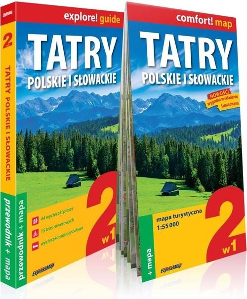 Tatry polskie i słowackie explore! guide Nodzyński Tomasz, Cobel-Tokarska Marta