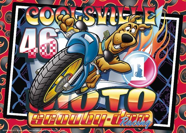 Przygody Scooby-Doo - puzzle 4w1  (34257)