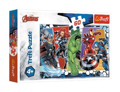 Puzzle 60el. Niezwyciężeni Avengersi
