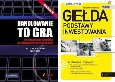 Handlowanie to gra + Giełda. Podstawy inwestowania Wojciech Haman, Jerzy Gut