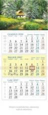 Kalendarz trójdzielny KT17 2017 Chatka
