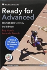 Ready for Advanced 3rd Edition Coursebook with eBook and key