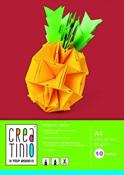 Papier kolorowy Creatinio A4/10k (400079856)