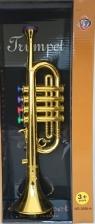 Instrument muzyczny trąbka 2 kolory