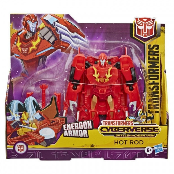 Transformers: Action Attackers Ultra - Hot Rod (E1886/E7107)