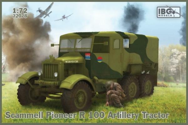 Model plastikowy Scammell Pioneer R100 Artillery Tractor (72078)