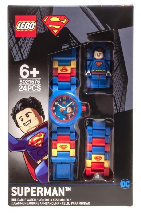 Zegarek LEGO®: DC Super Heroes - Superman (8021575)